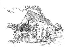 646 Finistère – Moulin de Kerouat Commana