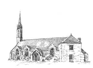 649 Finistère – Eglise St Tudy – Ile Tudy