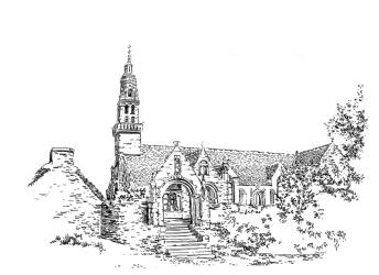653 Finistère – Chapelle Notre Dame Châteaulin