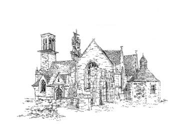 654 Finistère – Chapelle St Sébastien – St Ségal