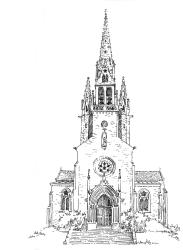 656 Finistère – Eglise St Idunet – Châteaulin