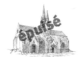 658 Finistère – Chapelle de Tronoen [épuisé]