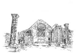 667 Finistère – Chapelle Rosace de Languidou – St Jean Trolimon