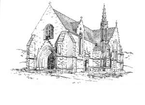 668 Finistère – Chapelle de Ty Mamm Doué – Quimper