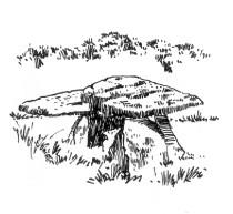670 Finistère – Dolmen St Maudez – Nizon