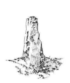 673 Finistère – Menhir de Keranglay – Leuhan – Coray