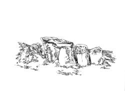 683 Finistère – Allée couverte Creach Gallic Goulven