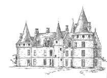 689 Ille-et-Vilaine – Château de Bonnefontaine