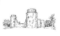 690 Côtes d'armor – Château de la Hunaudaye