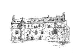 693 Côtes d'armor – Château de la Roche Jagu