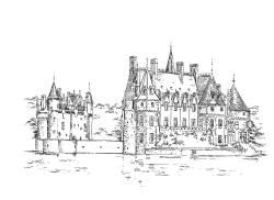 695 Loire atlantique – Château de la Breteche