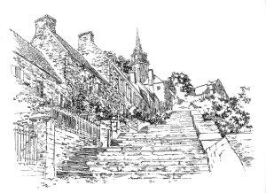 698 Côtes d'armor – Escaliers de Brelevenez – Lannion