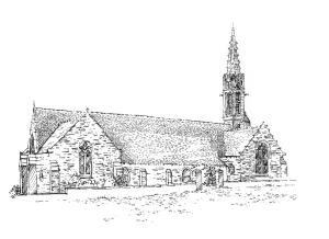 700 Finistère – Eglise Notre Dame Izel vor – Forêt Fouesnant
