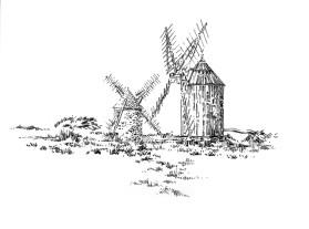 705 Finistère – Moulins de Trouguer – Cleden – Cap Sizun