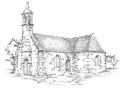 708 Finistère – Chapelle de Kerbrader – Fouesnant