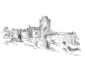 709 Côtes d'armor – Château Fort la Latte