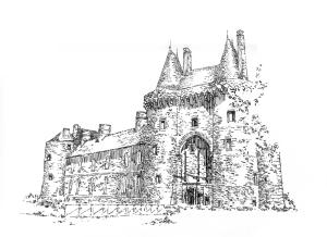 710 Ille-et-Vilaine – Château de Montmuran
