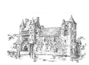 711 Morbihan – Château Trecesson – Campeneac