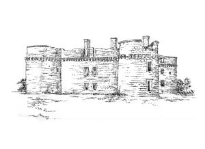 712 Finistère – Château de Kergournadeach