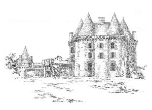 714 Ille-et-Vilaine – Château de Landal – Broualan