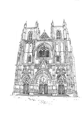 720 Loire Atlantique – Cathédrale St Pierre – Nantes