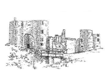 722 Loire atlantique – Château de Ranrouët – Herbignac