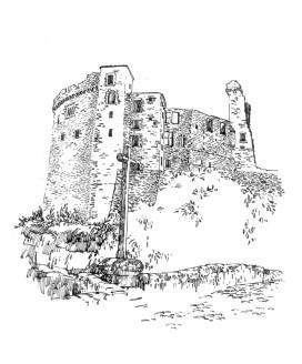 724 Loire atlantique – Château – Clisson