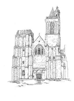 737 Ille et Vilaine – Cathédrale Dol