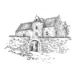 744 Côtes d'armor – Château de la Touche-Brandineuf – Plougast