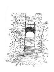 748 Côtes d'armor – Remparts porte St Jean – Moncontour