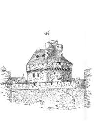 750 Ille et Vilaine – Gros donjon – St Malo