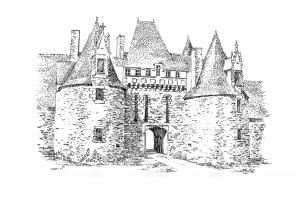 756 Château de la Motte-Glain – Chapelle Glain – Loire atlantique