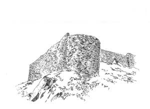 768 Tour vestiges château – Châteauneuf – Faou – Finistère