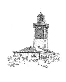 779 Phare de Pen-Men – Groix – Morbihan