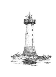 784 Phare de la Pierre-de-Herpin – Pointe du Grouin – Ille-et-Vilaine