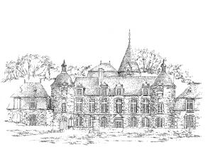 785 Château de la Bourbansais – Pleugueuneuc – Ille-et-vilaine