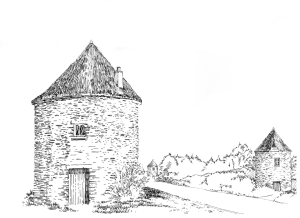 799 Paysage – Les Moulins Vildé la Marine – Ille-et-Vilaine