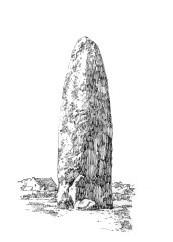 803 Menhir de Champ-Dollent – Dol -Illle-et-Vilaine