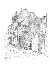 806 Citée – Hôtel Le Sevoy – Jugon les Lacs – Côtes d'armor