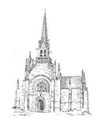 810 Eglise notre Dame – Kernascleden – Morbihan