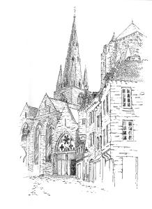 811 Basilique Notre Dame de Bon Secours – Guimgamp – Côtes d'armor