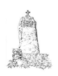 819 Menhir christianisé de Plomeur-Bodou – Côtes d'Armor