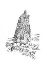 820 Menhir Lande-Rosse – Bazouges-la-Perouze – Ile-et-Vilaine