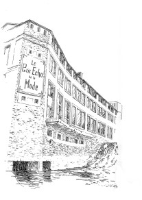 830 Monument de l'imprimerie – Petit Echo – Châtelaudren – Côtes d'Armor