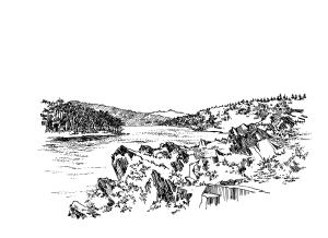867 Lac Guerledan – Côtes d'armor