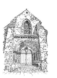 869 Eglise Trinité – Trinité-Porhoët – Morbihan