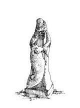 872 Sculpture – La vallée des saints – Carnoet – Côtes d'armor