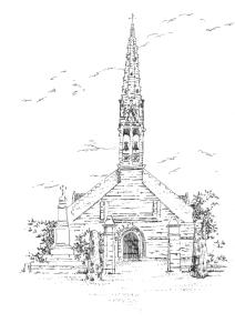 883 Finistère – Eglise St Jean – Trolimon