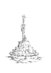 884 Finistère – Calvaire Enclos Chapelle Beuzec Caval – Plomeur