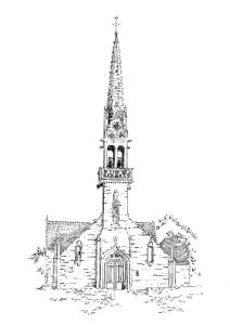 890 Finistère – Eglise St Hernin